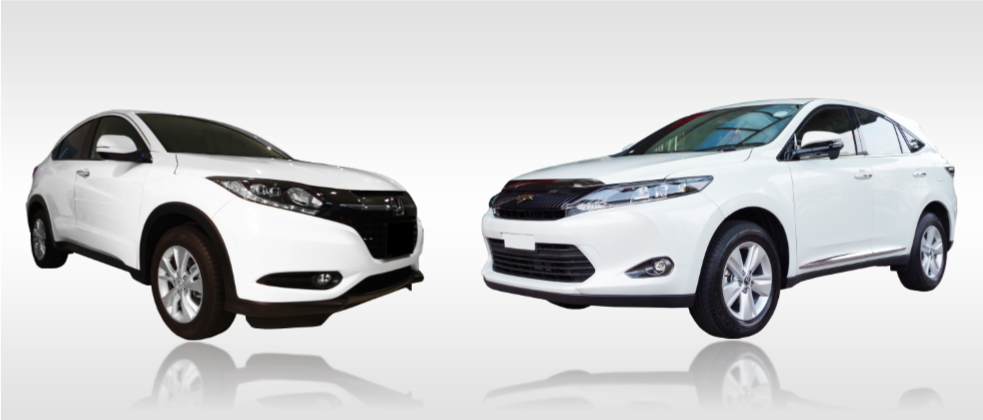 Introduction of the All-new Honda Vezel and Toyota Harrier