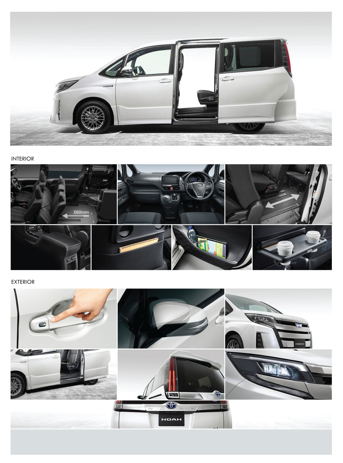 New Private Vehicle In Singapore - Toyota Noah 1.8X Hybrid
