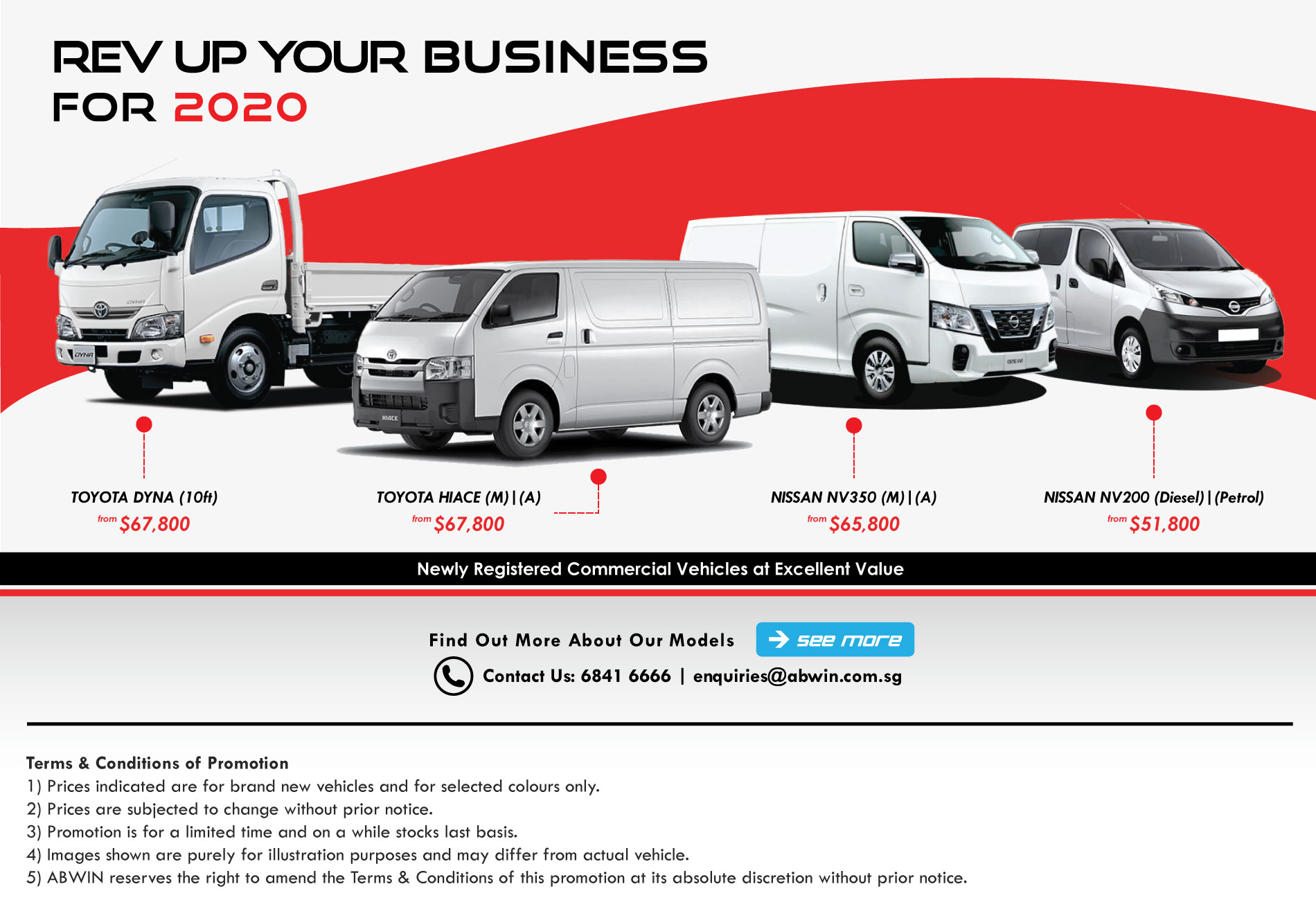 Brand New Commercial Vehicles in Singapore_2020
