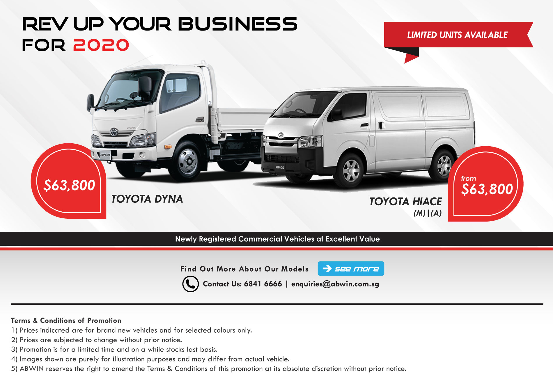 Brand New Commercial Vehicles in Singapore_March2020