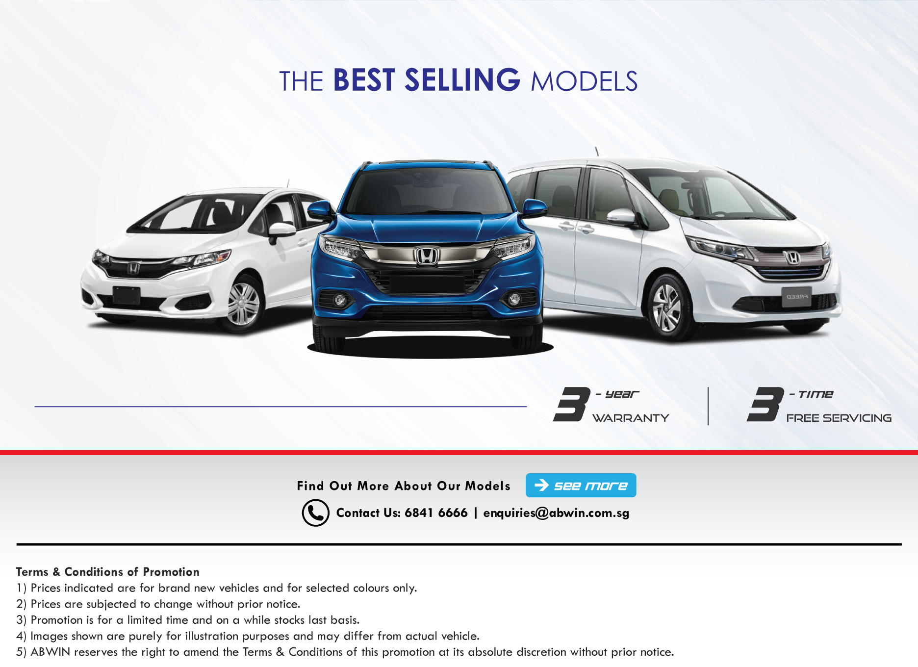 Brand New Cars in Singapore_2020