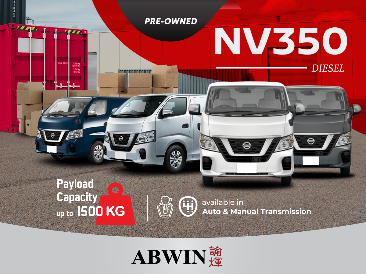 Drive Away A Pre-Owned NV350 from $24,800